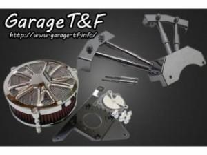 ガレージT&F ラグジュアリースター&プッシュロッドカバーセット カラー:メッキ