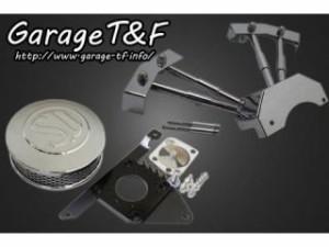 ガレージT&F SU&プッシュロッドカバーセット カラー:メッキ