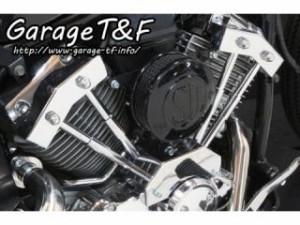 ガレージT&F SU&プッシュロッドカバーセット カラー:ブラック