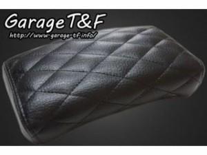 ガレージT&F ピリオンシート(タイプB) ブラック ダイヤステッチ