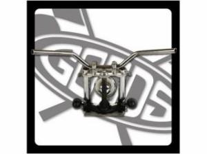 グッズ CB400SS ハンドル関連パーツ 【数量限定セール】CB400SS ナロートラッカーバー クローム【ワイヤーセット】