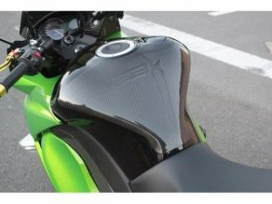 SSK NINJA1000/NINJA1000ABS 11-用タンクパッド ドライカーボン 仕様:平織り艶あり