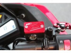SSK ニンジャ250 マスターシリンダー NINJA250/ABS 13-15用マスターシリンダーキャップ レッド