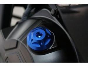 SSK ニンジャZX-9R エンジンオイルパーツ ZX-9R 98-03用オイルフィラーキャップ M30×P1.5 ブルー
