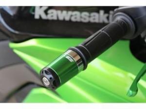 SSK ZRX1200R ハンドル関連パーツ ZRX1200R 01-08用ヘビーウェイトハンドルバーエンドスライダー ロング…