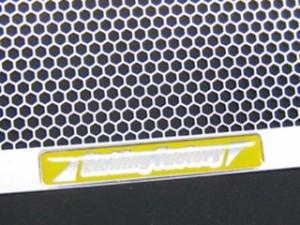 ETCHING FACTORY GSX-R600/750(06〜17)用 ラジエターガード カラー:黄エンブレム