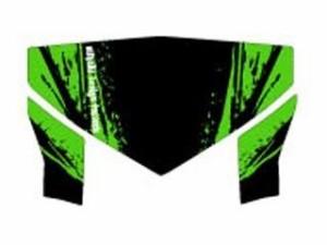 MDF DトラッカーX ドレスアップ・カバー D-TRA X(08-) グラフィックキット ブラッディーモデル グリーンタイプ…