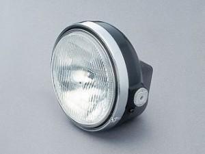 デイトナ ヘッドライト本体 H4-φ184×φ153 カラー:ブラック/クロームメッキ