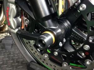 Kファクトリー ニンジャH2 スライダー類 フロントアクスルスライダー