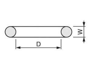 TONE トネ ハンドツール インパクト用Oリング(10個入) RINGW28S