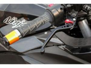 SSK ニンジャ250 レバー アジャストレバー 3Dタイプ クラッチ&ブレーキセット ブルー シルバー