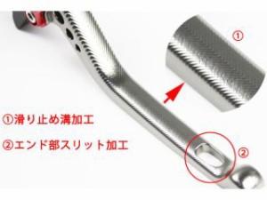 SSK ニンジャZX-10R レバー アジャストレバー 3Dタイプ クラッチ&ブレーキセット チタン ブラック