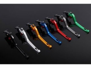 SSK ニンジャZX-10R レバー アジャストレバー 3Dタイプ クラッチ&ブレーキセット チタン ゴールド