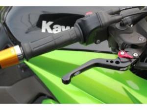 SSK ニンジャZX-6R レバー ショートアジャストレバー 3Dタイプ クラッチ&ブレーキセット チタン レッド