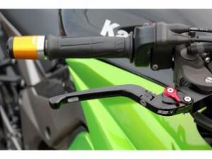 SSK ニンジャZX-9R レバー 可倒式アジャストレバー 3Dタイプ クラッチ&ブレーキセット チタン ブルー