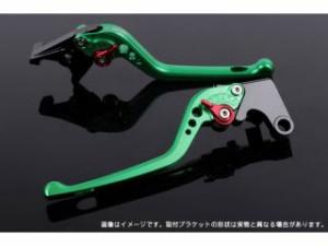 SSK 汎用 レバー アジャストレバー 3Dタイプ クラッチ&ブレーキセット グリーン シルバー