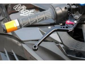 SSK アジャストレバー クラッチ&ブレーキセット 本体:チタン アジャスター:レッド