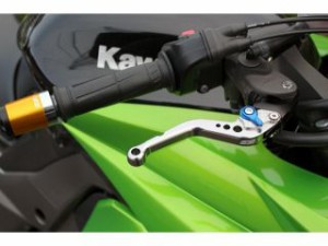 SSK ショートアジャストレバー クラッチ&ブレーキセット 本体:チタン アジャスター:グリーン