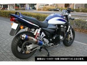 ストライカー GSX1400 マフラー本体 SUPER STRIKER TITAN チタンフルエキゾースト カーボン