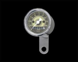 ネオファクトリー ハーレー汎用 スピードメーター 48mmアナログスピードメーター オールドフェイス 1:1 -95y ステン…