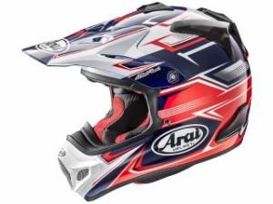 アライ ヘルメット Arai  オフロードヘルメット V-CROSS 4 SLY(V-クロス4・スライ) レッド 55-56cm