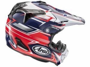 アライ ヘルメット Arai  オフロードヘルメット V-CROSS 4 SLY(V-クロス4・スライ) レッド 59-60cm