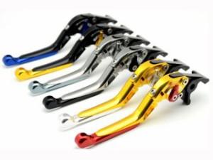 リデア モンスターS4 モンスターS4R レバー 可倒スライド延長式アジャストクラッチレバー ブラック シルバー