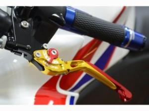 リデア スポーツ1000 レバー 可倒スライド延長式アジャストクラッチレバー チタン シルバー