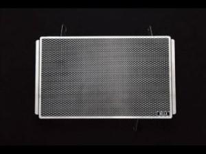 アエラ 1098 1198 848EVO ラジエター関連パーツ ラジエタープロテクター(ステンレス地肌)