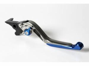 リデア Dトラッカー125 レバー スライド延長式アジャストブレーキレバー チタン ブルー