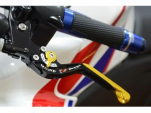 リデア CB750 レバー スライド延長式アジャストブレーキレバー チタン ブルー