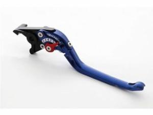 リデア VTR250 レバー 可倒式アジャストブレーキレバー ブルー レッド