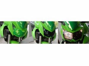 Powerbronze バイク・サングラス/レンズシールド カラー:ライムグリーン