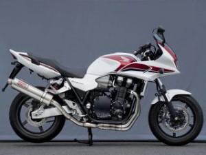 ヤマモトレーシング CB1300スーパーフォア(CB1300SF) マフラー本体 CB1300SF TI4-2-1-2 チタン…