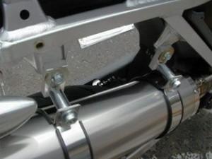 アウテックス SM 450R マフラー本体 【OUTEX SALE】SM450R(2004-2005年)用 マフラー OUTE…