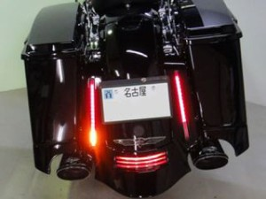 Device リヤフェンダーエクステンション 97-08 バンスオーバル ナローテール