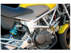 ナイトロン VTR250 リアサスペンション関連パーツ モノショック NTR R3 Series ターコイズ
