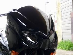 コタニ フォルツァX フォルツァZ カウル・エアロ FORZA(MF10)用グリッターマスク 純正塗装済(黒) Xtype