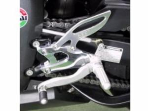 BEET YZF-R1 バックステップ関連パーツ ハイパーバンク 可倒式(シルバー)