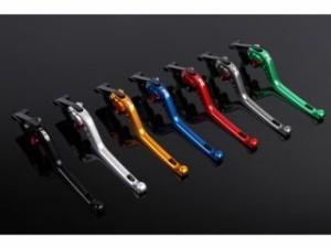 SSK YZF-R1 レバー アジャストレバー 3Dタイプ クラッチ&ブレーキセット チタン ゴールド