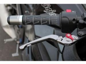 SSK GSX250FX レバー 可倒式アジャストレバー 3Dタイプ クラッチ&ブレーキセット シルバー レッド