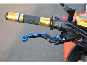 SSK GSX-R600 GSX-R750 レバー 可倒延長式アジャストレバー クラッチ&ブレーキセット チタン レッド