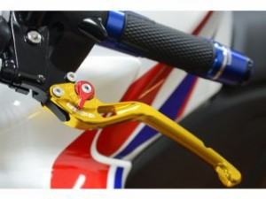 リデア CBR250RR レバー アジャストレバー ブレーキ&クラッチセット ゴールド シルバー