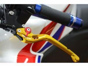 リデア GPZ1100 レバー アジャストレバー ブレーキ&クラッチセット グリーン ゴールド