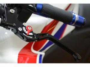 リデア GSR250 レバー 可倒式アジャストレバー ブレーキ&クラッチセット ブラック レッド