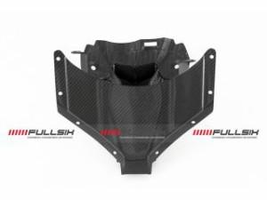 FULLSIX ヘッドライトミドルカウル インストルメントカバー含む コーティング:クリアコート(艶あり) カーボン繊維の種類…