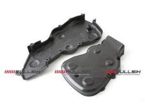 FULLSIX タイミングベルトカバーセット コーティング:マットコート(艶なし) カーボン繊維の種類:200Plain 平織り