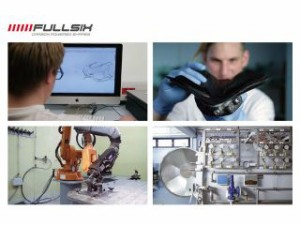 FULLSIX ミラーボディ 固定式 コーティング:クリアコート(艶あり) カーボン繊維の種類:200Plain 平織り