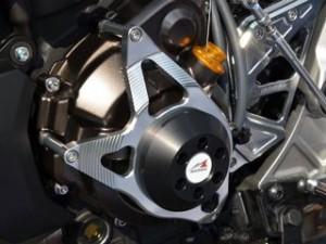 アグラス MT-07 スライダー類 レーシングスライダー 4点セット サブフレームタイプスライダーφ50 ジュラコン/ホワイト…