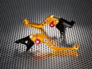 ユーカナヤ ライトニング X1 レバー スタンダードタイプ ショートアルミビレットレバーセット ゴールド グリーン